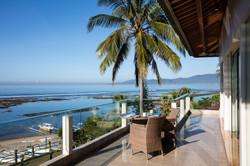 Villa Cocoa Maya, Candidasa, Bali, enjoying the morning light with a cup of coffee