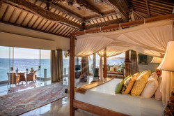 Villa Cocoa Maya, Candidasa, Bali, Joglo Suite with exquisite roof detail