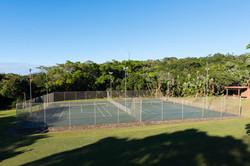 Partake in a bit of tennis