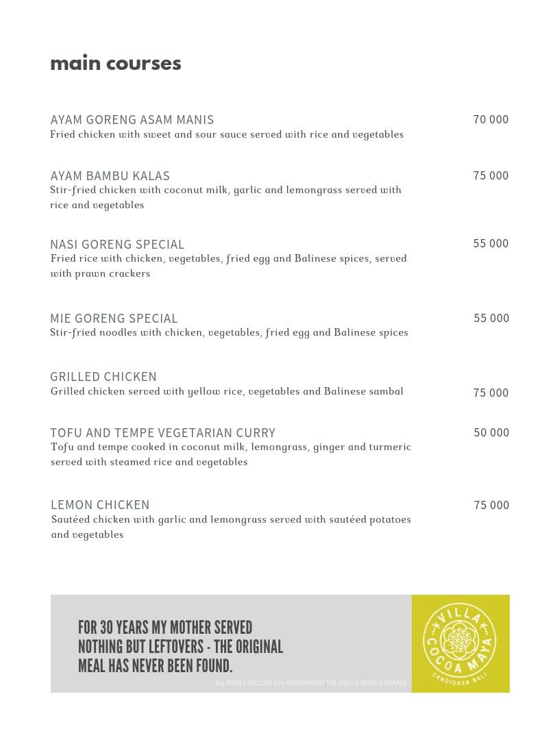 Villa Cocoa Maya menu mains.jpg