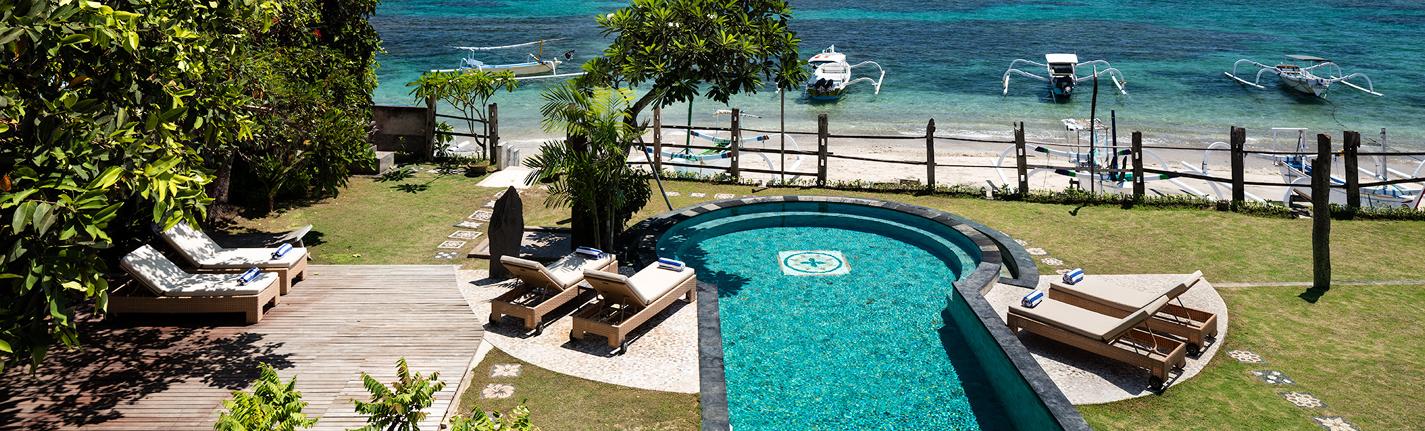 Villa Cocoa Maya pool