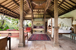 Villa Sagitta, Ubud, Bali, The unique Joglo Suite