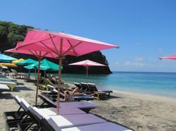 Relax at White Sand Beach