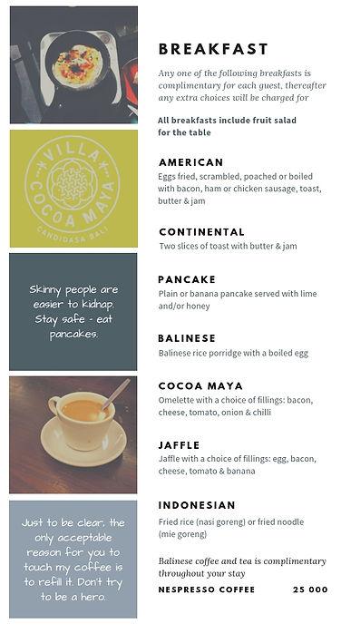 Villa Cocoa Maya breakfast.jpg