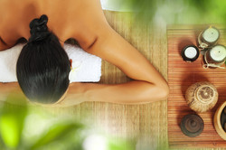 Relax with a spa treatment