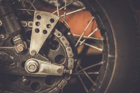 Motorcycle sprocket and custom chain guard .jpg
