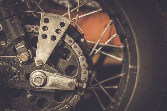 Motorcycle sprocket and custom chain guard .jpg
