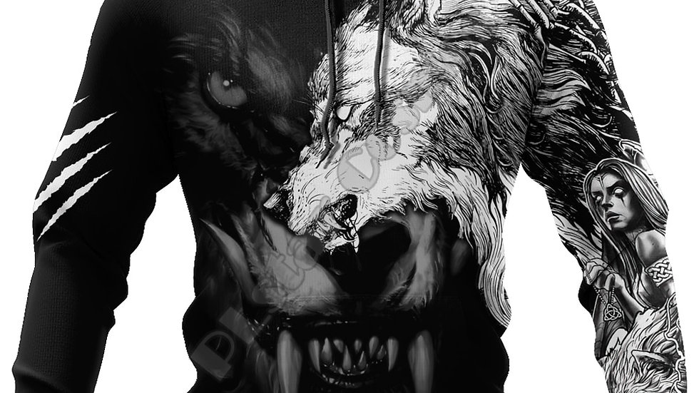 """WolfLife Sweater """"Fear The Pack"""""""