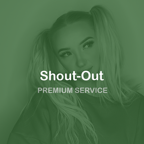 Shout-out your link ( Product, brand or social )