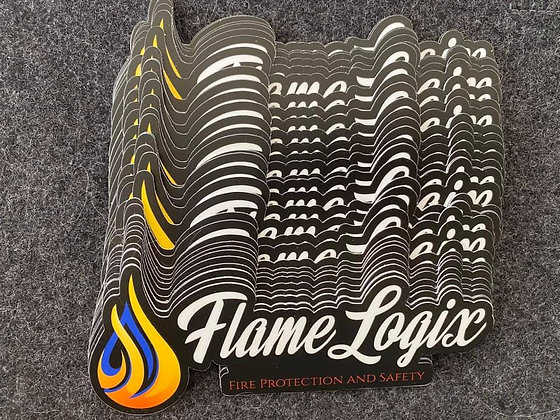 FlameLogix Die Cut Stickers