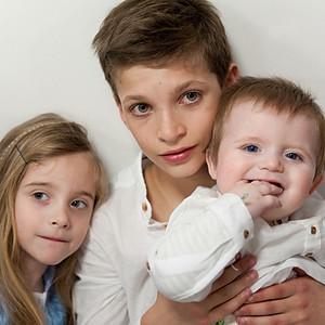 Jasmin, Coline et Clément