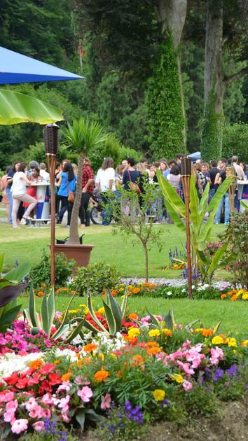 Event im Garten