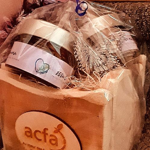 Boîte ACFA avec 3 pots de 150ml