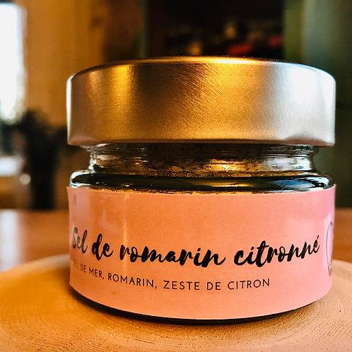 Sel de Romarin citronné, 150 ml