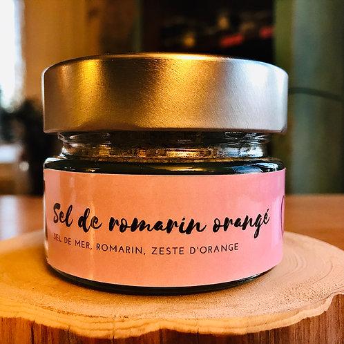 Sel de Romarin orangé, 150 ml