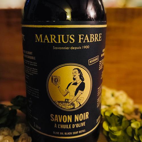 Savon noir (huile d'olive nature), 1L