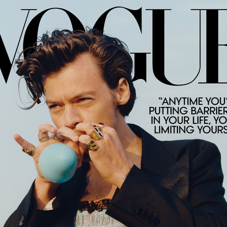 Harry and his Styles: the negative reaction to his recent Vogue cover