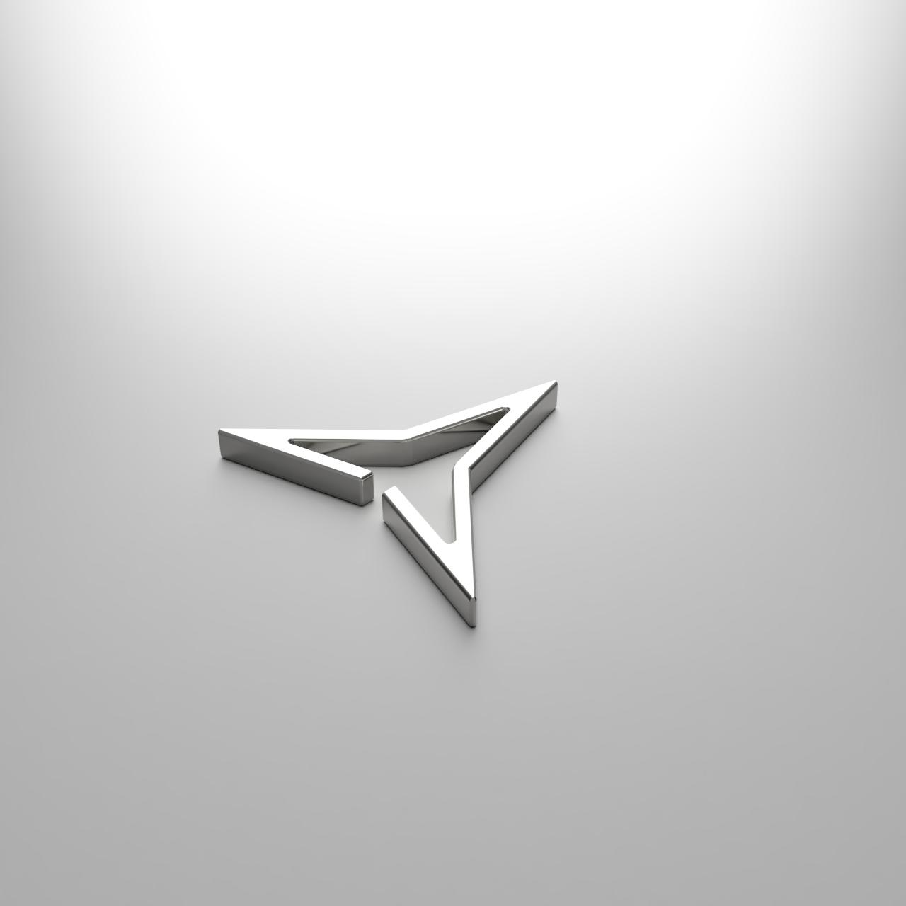 Triangle Cuff / 三位一体