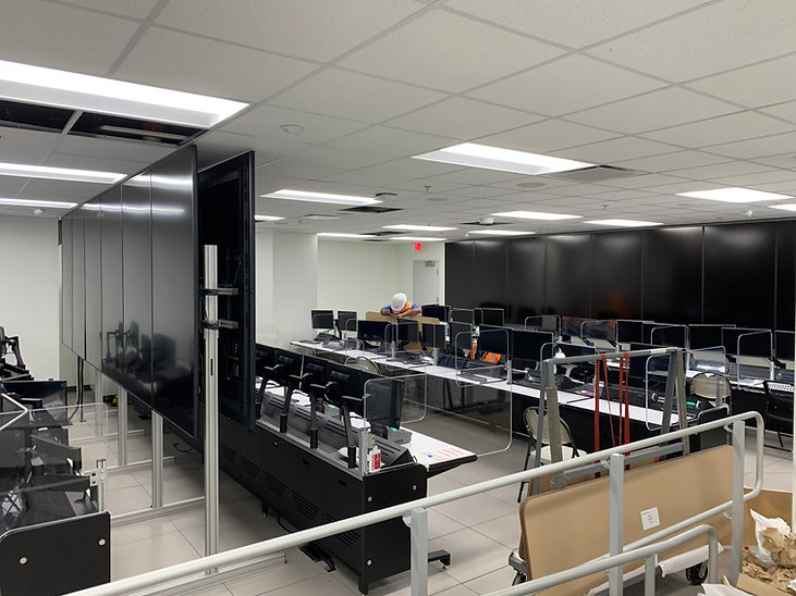 SoFi Stadium - Control Room Shielding