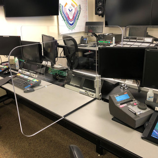 Divider Shield - Control Room Angel Stadium