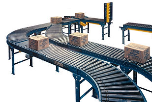 Lineshaft roller conveyor