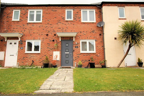 2 Bed Mid Terrace with Garage- Cae Melin Avenue, Oswestry