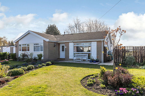 3 Bedroom Detached Bungalow with Garage - South View, Oswestry