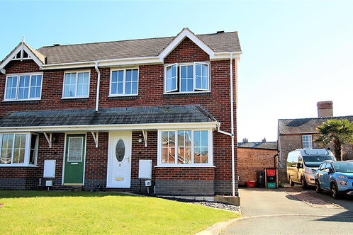 3 Bed Semi Detached FamilyHome with Log Cabin - Llanymynech