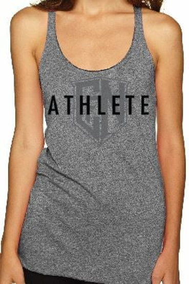 Heather Grey Athlete Tank