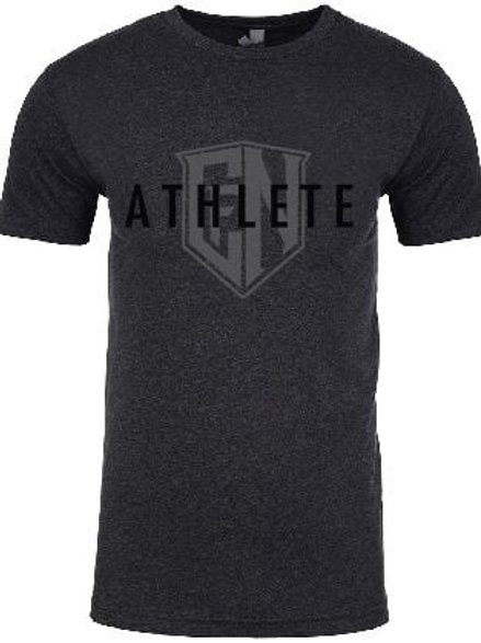 Dark Grey Athlete Tee