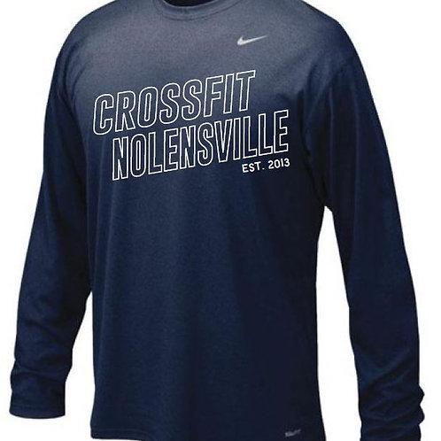 Men's Nike L/S Legend Tee 100% Dri-Fit Polyester (Choose color in description)