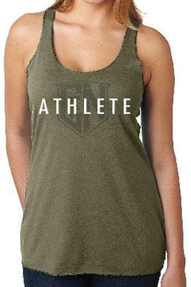 Olive Athlete Tank