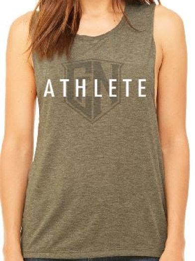 Olive Athlete Sleeveless
