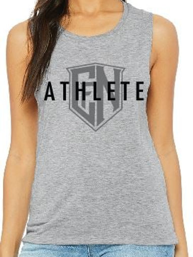 Heather Grey Athlete Sleeveless
