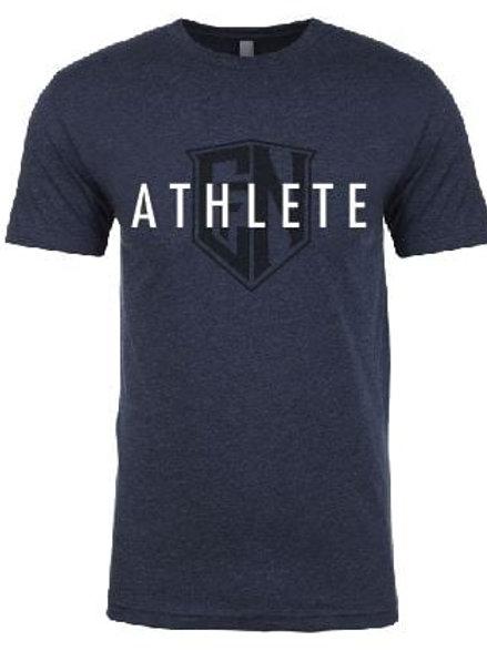 Navy Athlete Tee