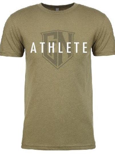 Military Green Athlete Tee