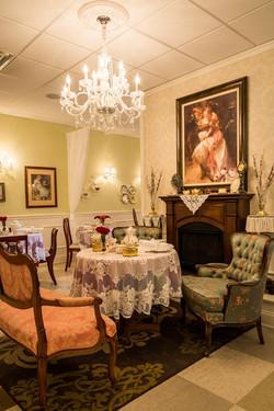 Vintage styled dining room