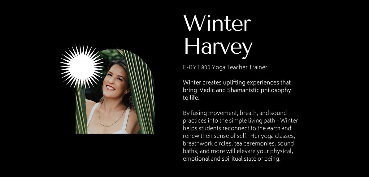 Winter Harvey_San Diego Yoga Teacher