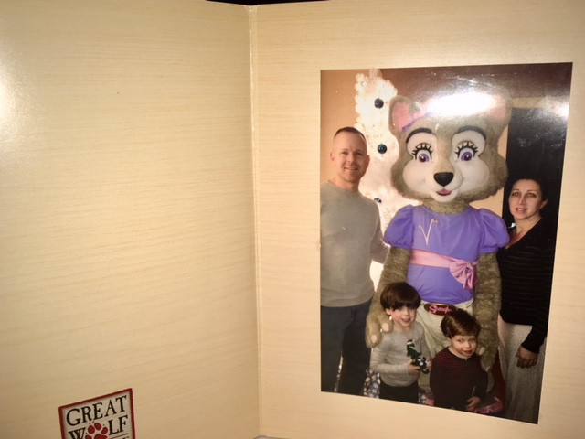 Family Pic with Violet....so cool.