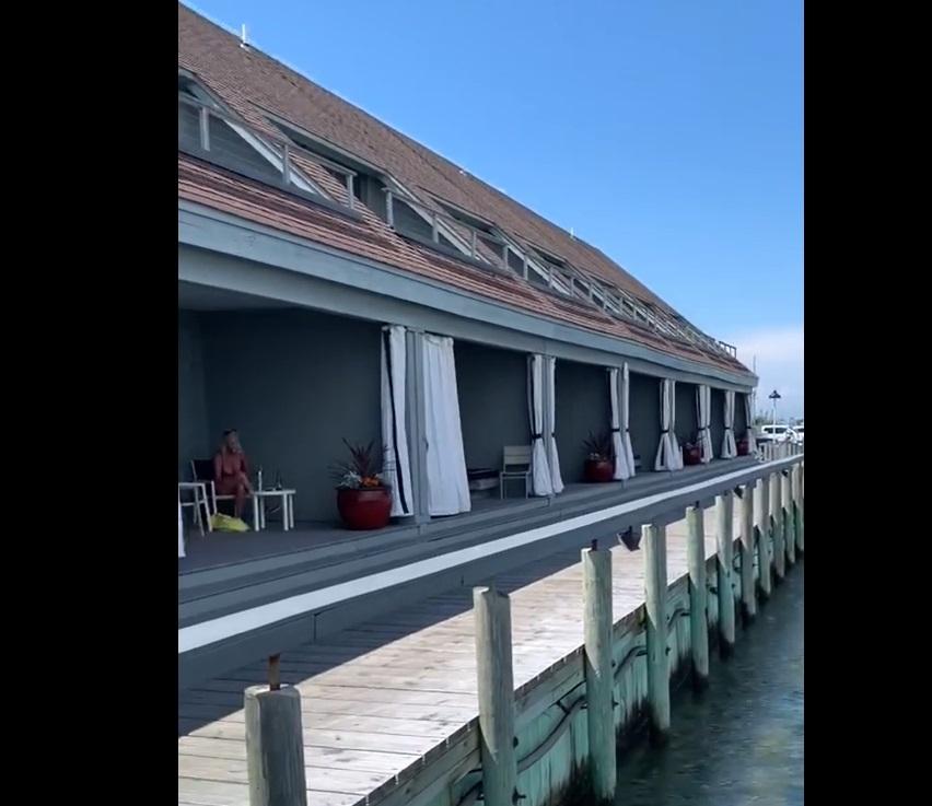 Villa Rooms from Marina - walkout