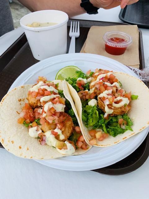 Gosman's shrimp tacos