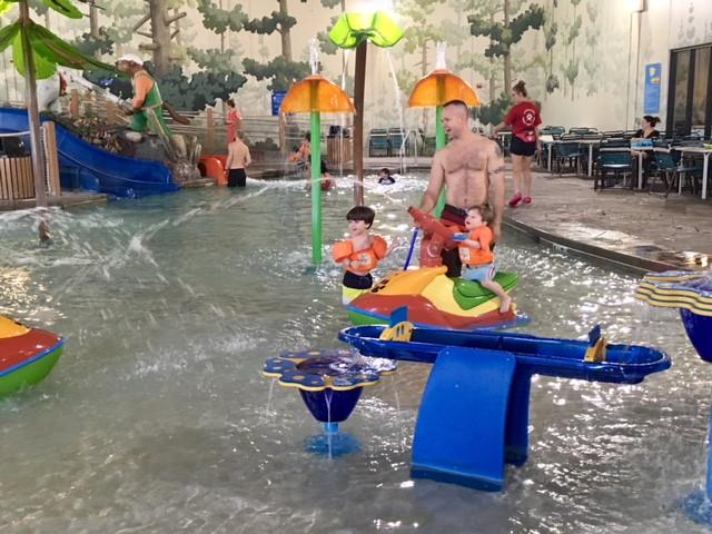 Toddler pool - 1.5 ft. deep