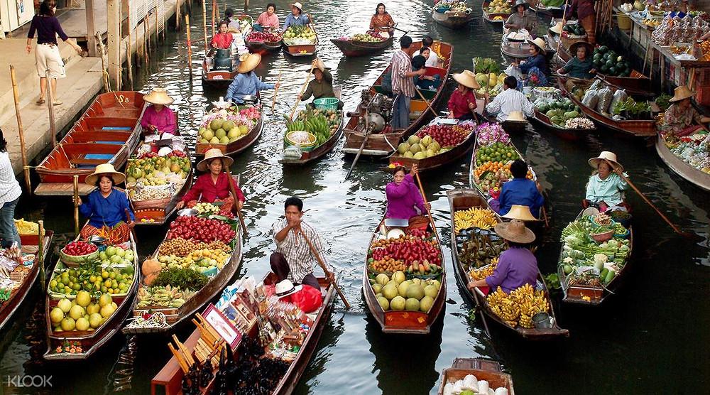 Floating Markets of Bangkok