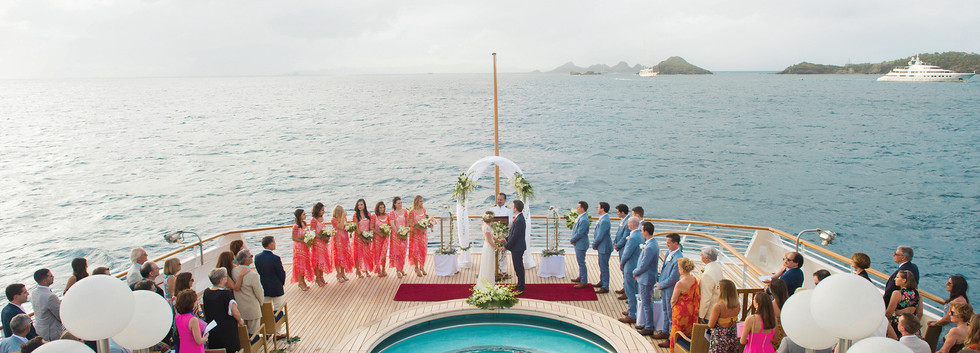 Private Charter for your wedding.