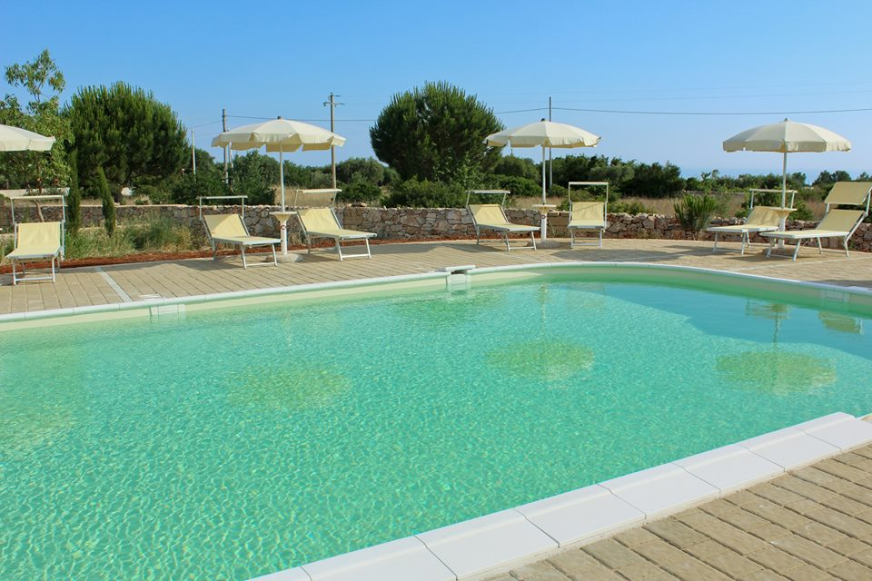 la piscina per i nostri ospiti