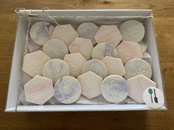 Fondant Marble Biscuit Cookie