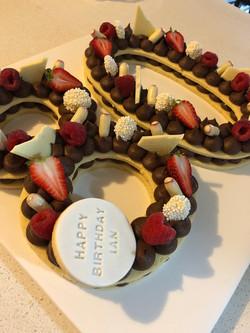 Vanilla Chocolate Biscuit Cake
