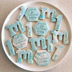 Fondant Marble Biscuit