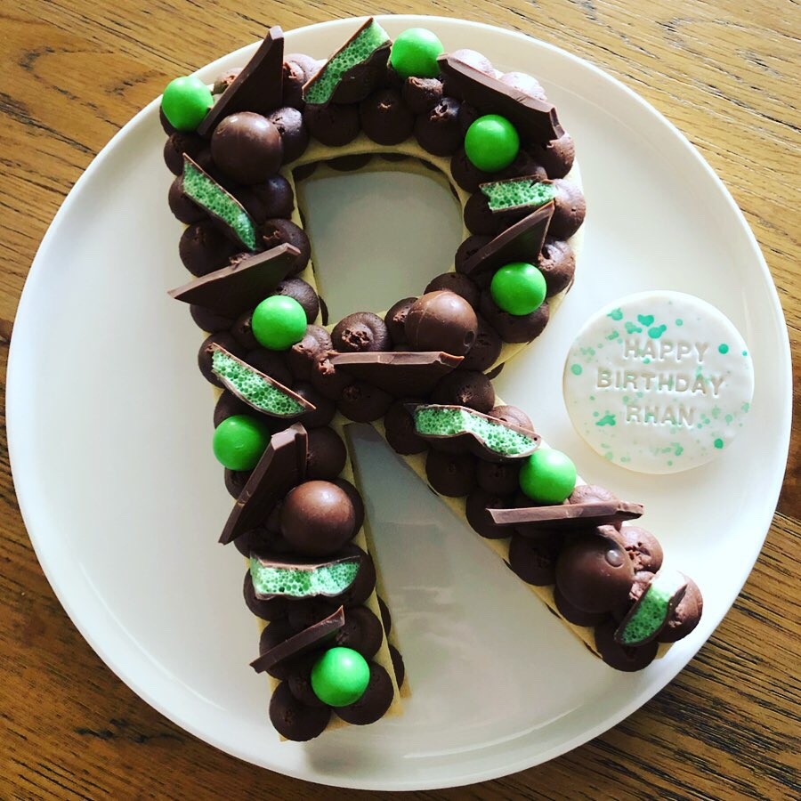 Choc Mint Biscuit Cake