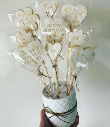 Biscuit Bouquet - Fondant